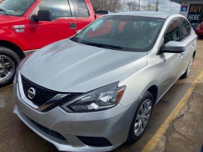 2018 Nissan Sentra S CVT (3N1AB7AP9JY) with an 1.8L L4 SFI DOHC 16V engine, Continuously Variable Transmission transmission, located at 11700 Garland Rd., Dallas, TX, 75218, (214) 321-6450, 32.852482, -96.678986 - Photo #0