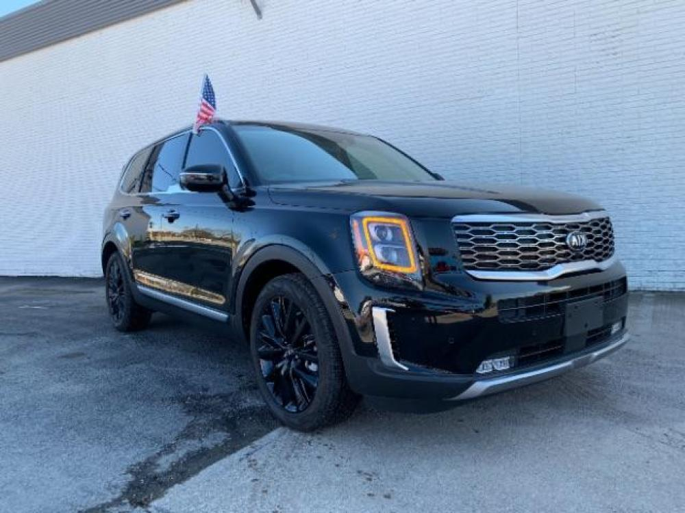 2020 Ebony Black Kia Telluride SX (5XYP54HC9LG) with an 3.8L V6 DOHC 24V engine, 8-Speed Automatic transmission, located at 11700 Garland Rd., Dallas, TX, 75218, (214) 321-6450, 32.852482, -96.678986 - Photo #0