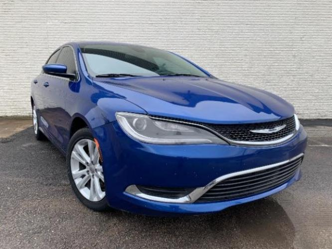 2015 BLUE /GRAY CHRYSLER 200 Limited (1C3CCCAB9FN) , located at 11700 Garland Rd., Dallas, TX, 75218, (214) 321-6450, 32.852482, -96.678986 - Photo #0